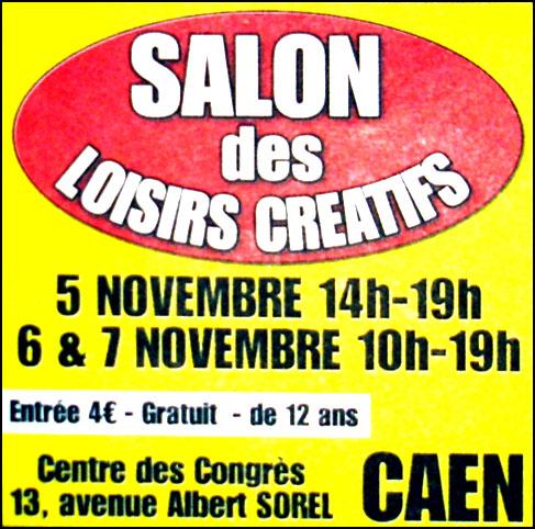 Salon des loisirs cr atifs de caen blog presse du cdip - Salon creativa nantes ...