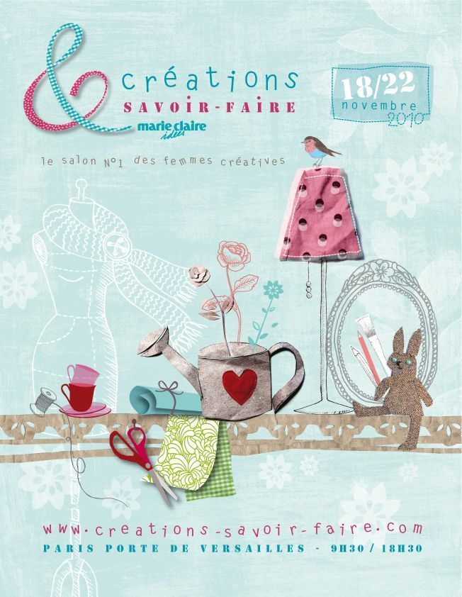 Salon creations et savoir faire de paris blog presse du cdip - Invitation salon savoir faire et creation ...