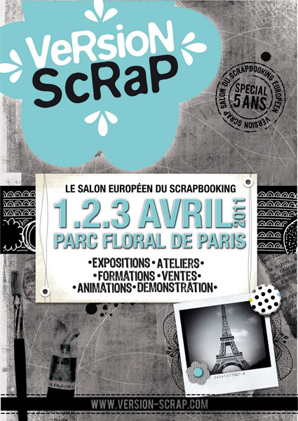 salon version scrap paris blog presse du cdip