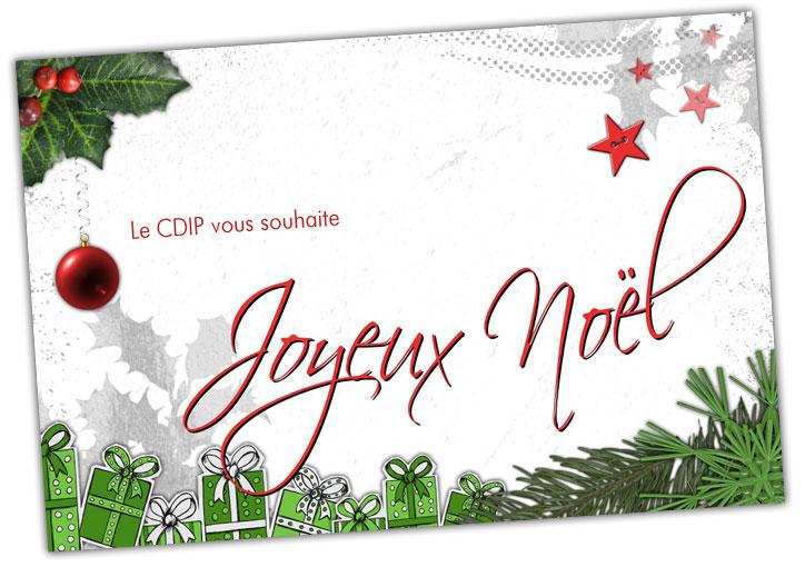Le CDIP vous souhaite Joyeux Noël !