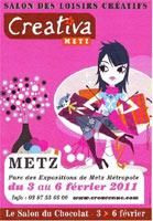 Salon des loisirs cr atifs creativa de metz 57 du 03 au for Salon creativa metz