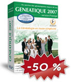 Généatique 2007 version prestige en coffret