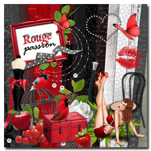 kit « Rouge passion »