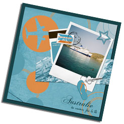Kit digital de scrapbooking Carnet de voyage