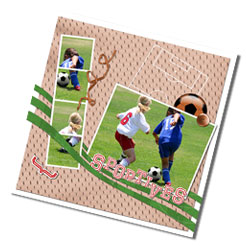Kit digital de scrapbooking Sport