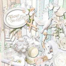 Kit Fleur de coton