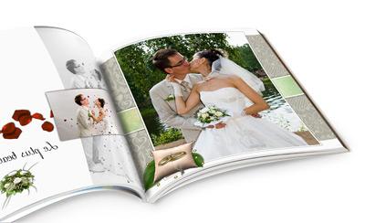 Livre photos pour un mariage