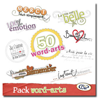 Pack Word-arts
